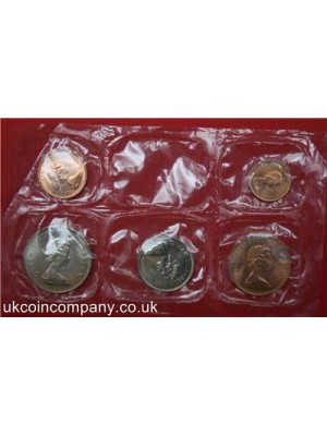 1974 FALKLAND ISLANDS UNCIRCULATED COIN SET